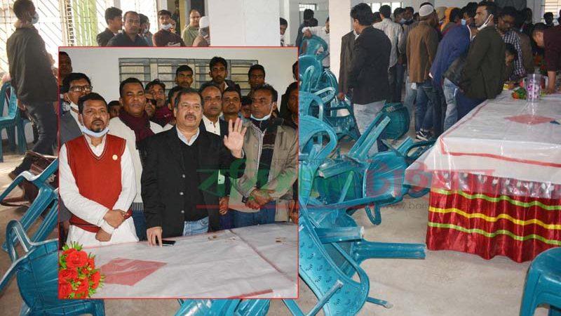 বরিশাল বিএনপি নেতা স্বপনের বাসভবনে হামলা ভাঙচুর: আহত ২০