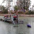 আগৈলঝাড়ায় অবৈধভাবে বালু উত্তোলনের মহোৎসব