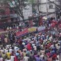 বরিশাল/ ব্যাটারিচালিত রিকশা-ভ্যান বন্ধে সরকারি সিদ্ধান্ত প্রত্যাহারের দাবিতে বিক্ষোভ