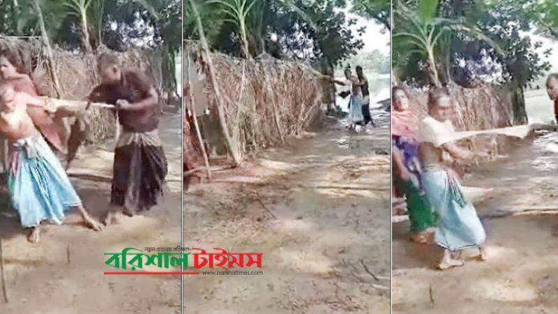 পটুয়াখালীর বলহীন বৃদ্ধকে নির্যাতন: নির্যাতনকারী ২ ছেলে গ্রেপ্তার