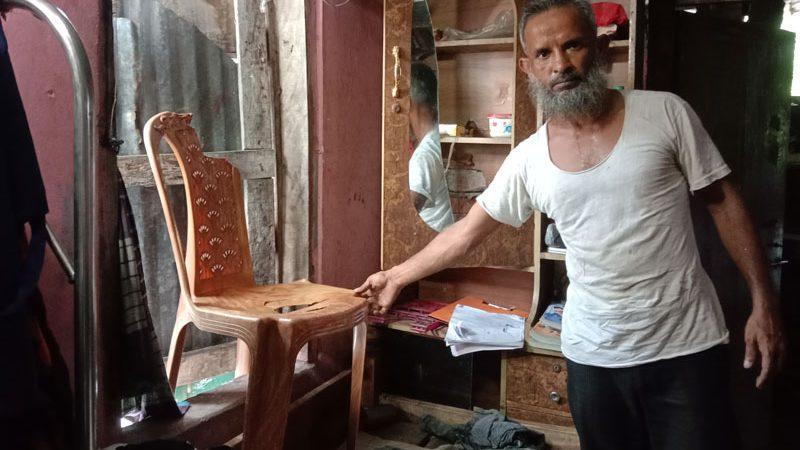 খালেদাবাদ কলোনীতে স্বামী-স্ত্রীকে কুপিয়ে ও পিটিয়ে জখম