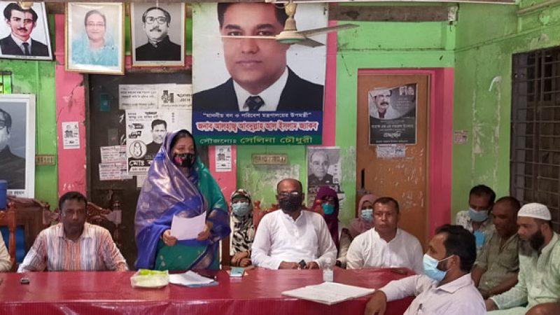 মনপুরায় সাবেক সাংসদ নজরুল ইসলামের মৃত্যুবার্ষিকী উপলক্ষে প্রস্তুতি সভা